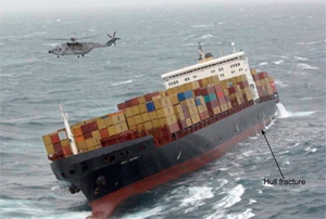 «MSC Napoli» Ran Into Trouble in the English Channel
